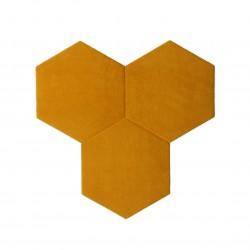 Textil Tiles Gold 3 pcs.
