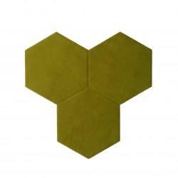 Textil Tiles Olive 3 pcs.