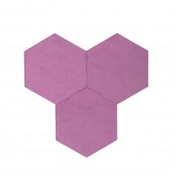 Textil Tiles Purple 3 pcs.