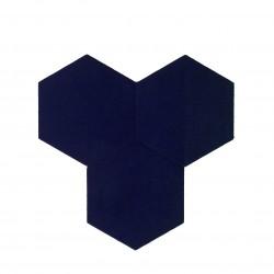 Textil Tiles Deep Violet 3 pcs.